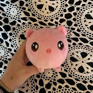 pig memory foam toy
